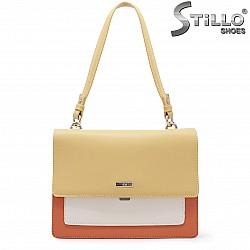 Малка чанта в оранжево и жълто – 35957