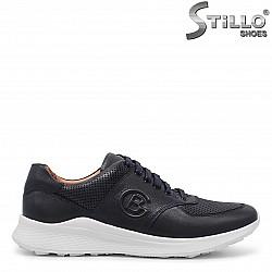 Спортни мъжки обувки от естествена кожа – 36005
