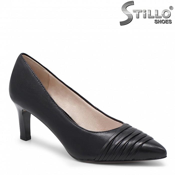 Остри обувки TAMARIS на ток от естествена кожа – 35865