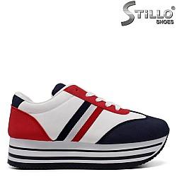 Спортни обувки на дебело ходило - 33483