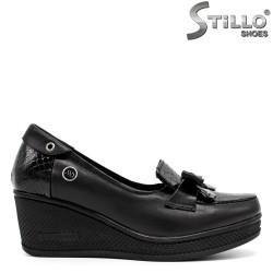 Дамски кожени обувки малки номера от №34 - 31191