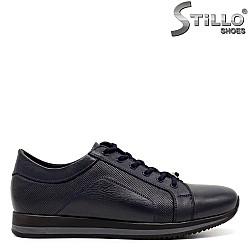 Мъжки спортни обувки с връзки - 31287