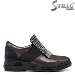 Бронзови обувки с камъни - 31439