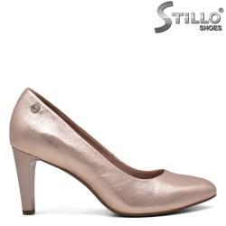 Розово-златни обувки Tamaris на ток - 32002