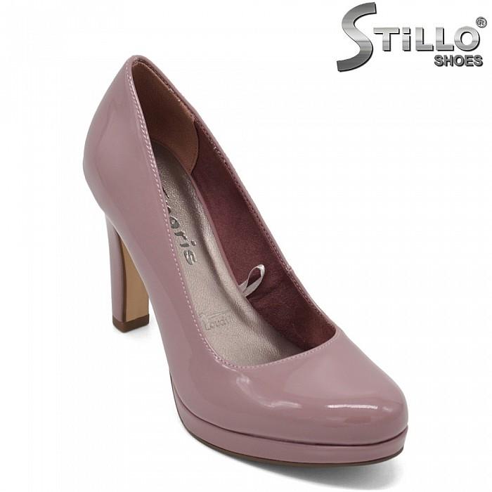 Обувки Tamaris в цвят пепел от рози - 32006