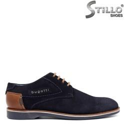 Мъжки обувки Bugatti с перфорация - 32087