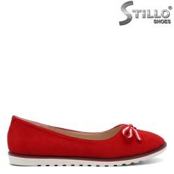 Червени дамски пантофки - 32153
