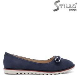 Сини дамски пантофки - 32154