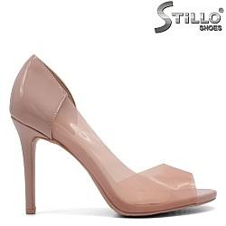 Розови силиконови обувки - 32165