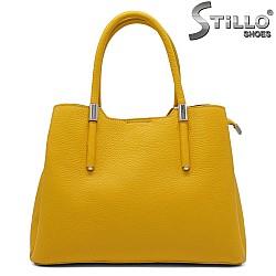 Жълта дамска чанта - 32176
