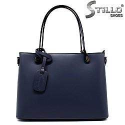 Тъмно синя чанта - 32201