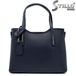 Синя дамска чанта - 32211
