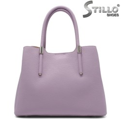 Лилава дамска чанта - 32225