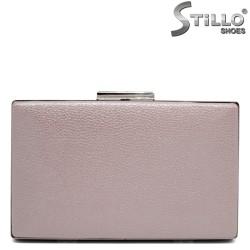 Перлено - розова абитуриентска чанта - 32249