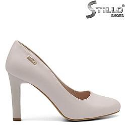 Перлено - бежови дамски обувки - 32274
