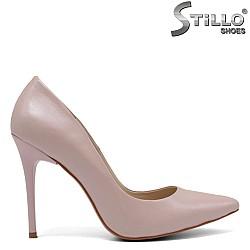 Официални розови дамски обувки - 32308
