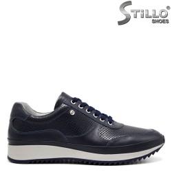 Мъжки сини спортни обувки - 32381