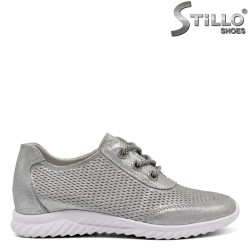 Тъмно сиви спортни обувки - 32424