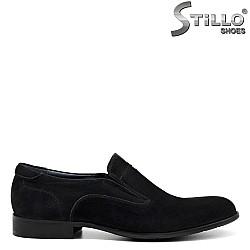 Велурени мъжки обувки - 32466