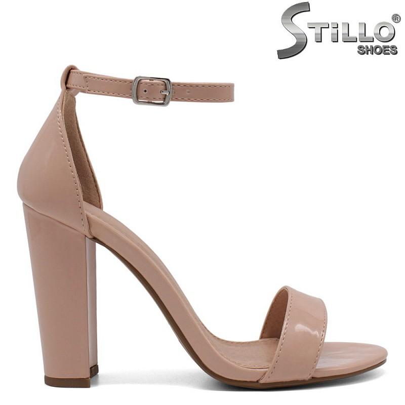 Дамски сандали на висок ток - 32479