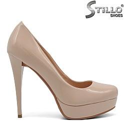 Обувки на платформа и висок ток - 32515