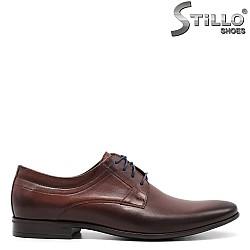 Елегантни кафяви обувки - 32525