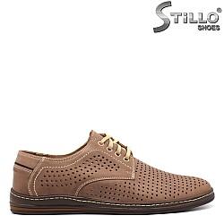 Мъжки обувки с перфорация - 32529