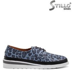 Сини леопардови обувки - 32539