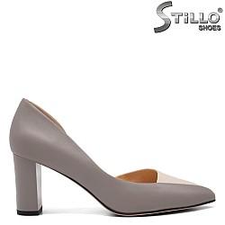 Сиви елегантни обувки - 32551