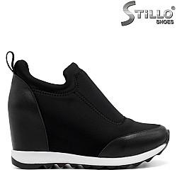 Обувки на скрита платформа - 32590