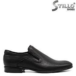 Мъжки кожени обувки - 31093