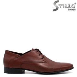 Кафяви елегантни мъжки обувки - 32604
