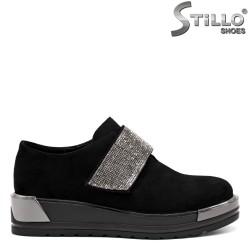 Дамски обувки с камъни - 32616