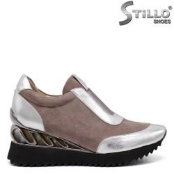 Модни обувки на платформа - 32619