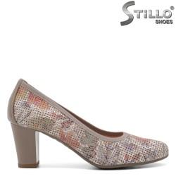 Цветни обувки с перфорация - 32646