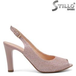 Летни  сандали без пета и пръсти - 32666
