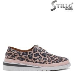 Розови леопардови спортни обувки - 32693
