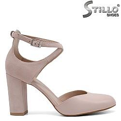 Обувки със затворена пета и пръсти - 32743