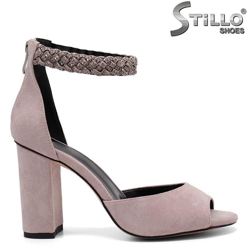 Елегантни сандали с камъни - 32816