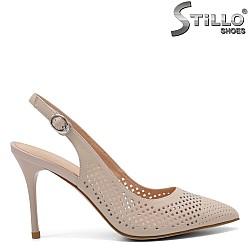 Дамски обувки на висок ток - 32818