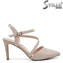 Официални обувки на висок тънък ток - 32864