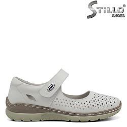 Летни ежедневни кожени обувки - 32899