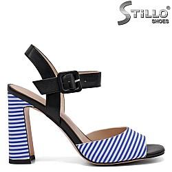 Модни сандали на висок ток - 32905
