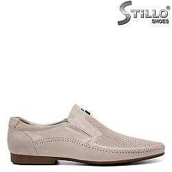 Летни мъжки обувки с перфорация - 32919