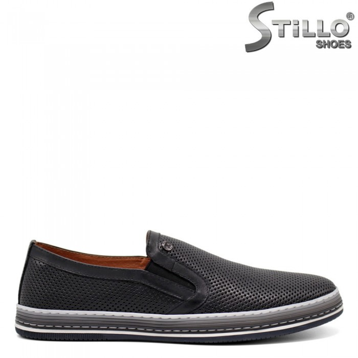 Мъжки обувки от естествена кожа - 32937