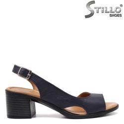 Ежедневни дамски сандали на ток - 32964
