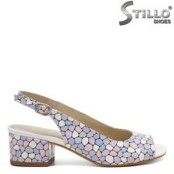 Модерни сандали на ток - 33015