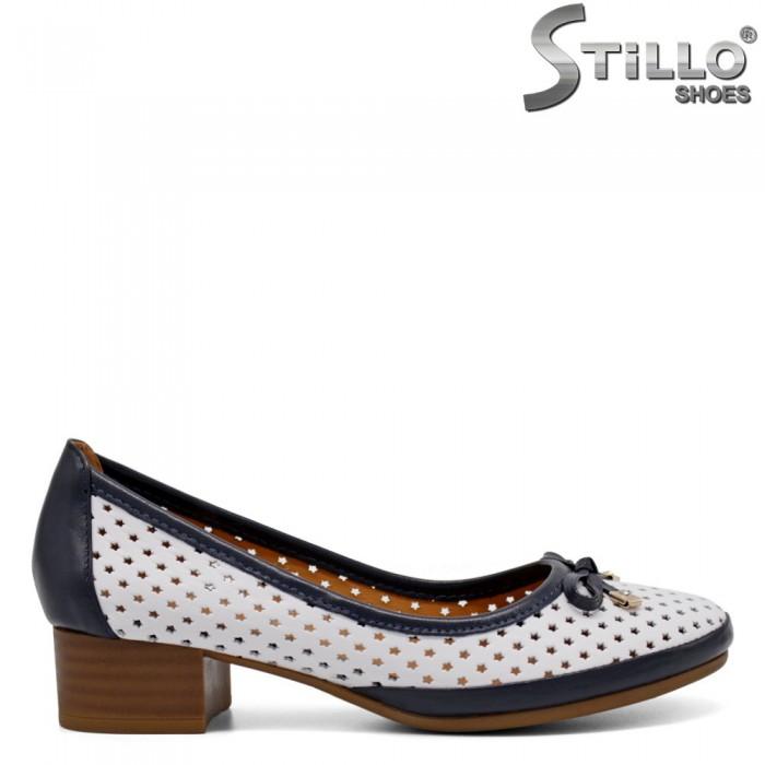 Дамски летни обувки на ток - 33018