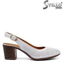Дамски обувки на ток без пета - 33020