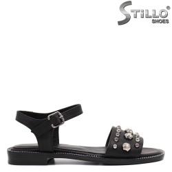 Ежедневни сандали на нисък ток - 33033